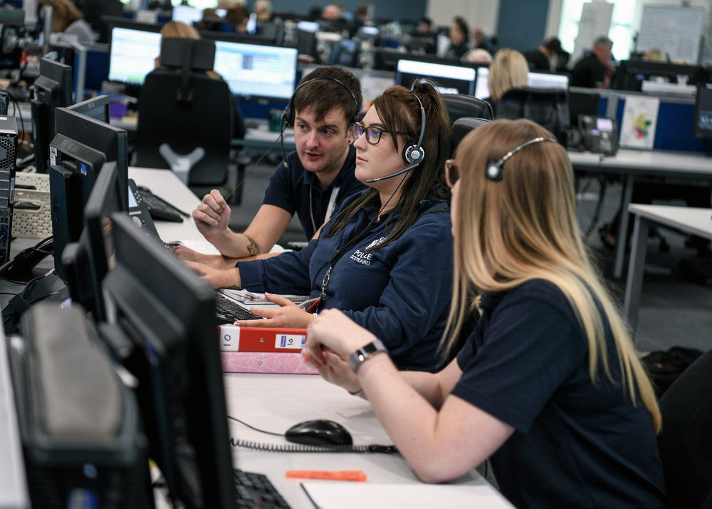 Police Scotland's control room staff are a vital part of the force's delivery of services to the public.