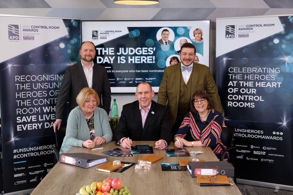 The Control Room Awards 2019 judging panel met to agree on the final shortlist for this year's ceremony
