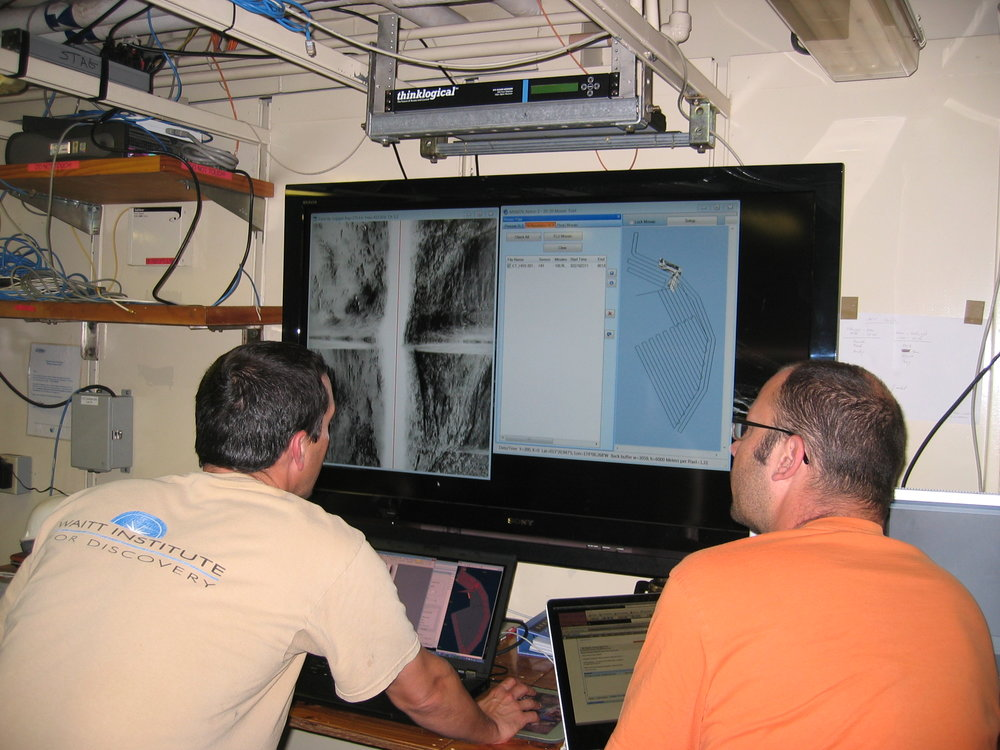 Data procsessing and AUV planning for deep sea mineral exploration.
