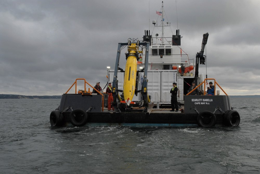 AUV operations supporting scientific and geo-physical work.