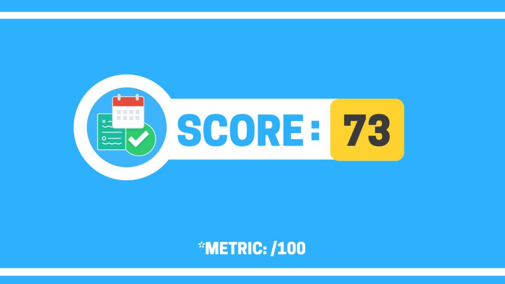 Workflow score