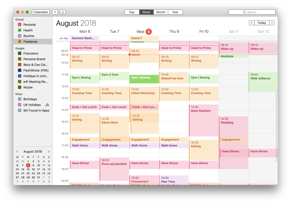 how to calendar block your week keep productive