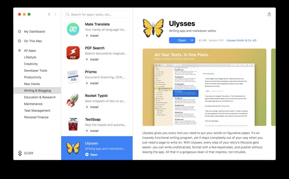 Setapp Review - Ulysses Mac App.png