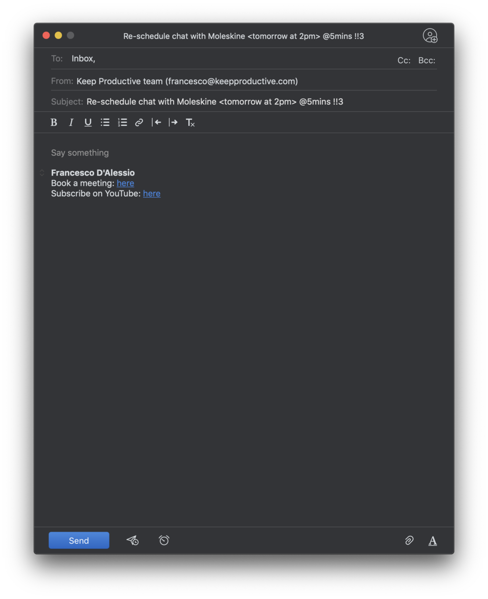 Spark Mail into Todoist via email.png