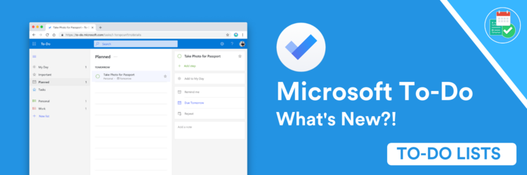 What's New with Microsoft To-Do — Keep Productive