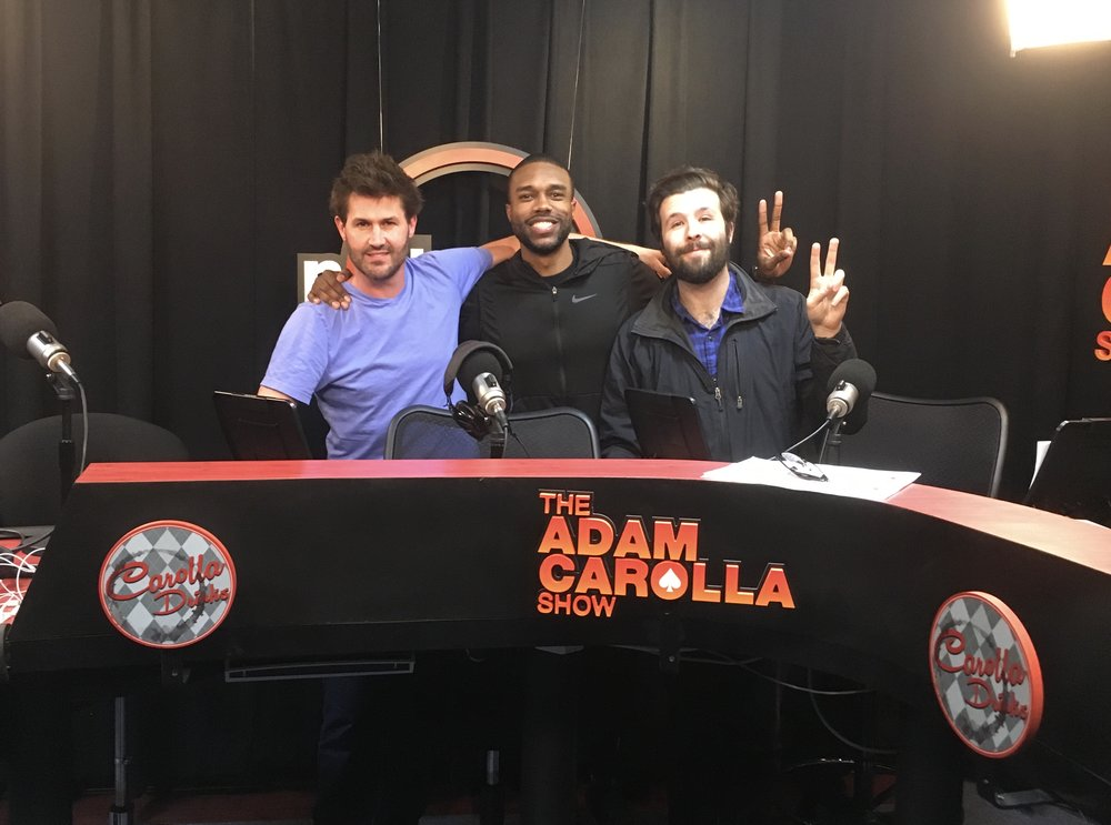 Another Bachelor Podcast - DeMario Jackson joins the guys to recap Arie's visits to the final four's hometowns and cover Santa Clarita's alarming crime rate, Becca K's ambiguous family dynamics, and Arie's questionable flying credentials. CLICK HERE TO LISTEN!