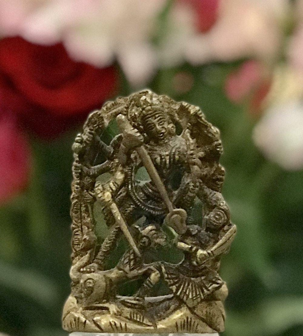 Devi as Durga. Photo  © 2019 DharmaKshetra Yoga