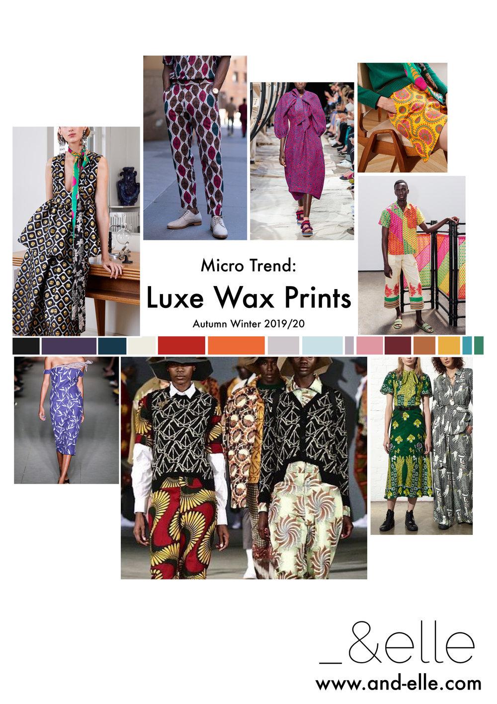 Print Design Trend Report AW2019