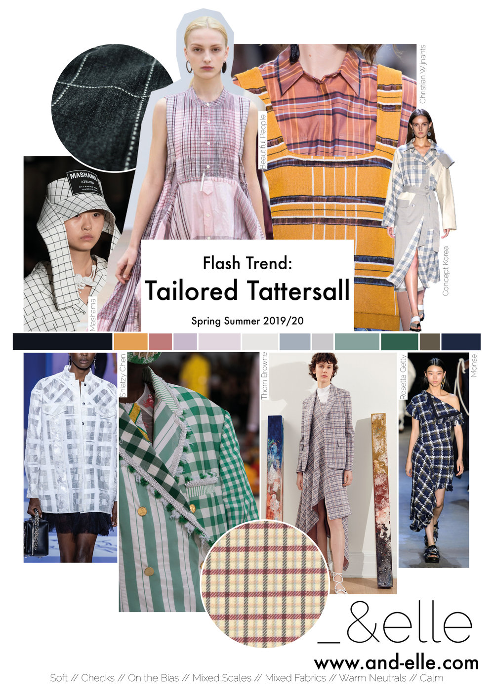 Trend Report SS19 Print Design Checks