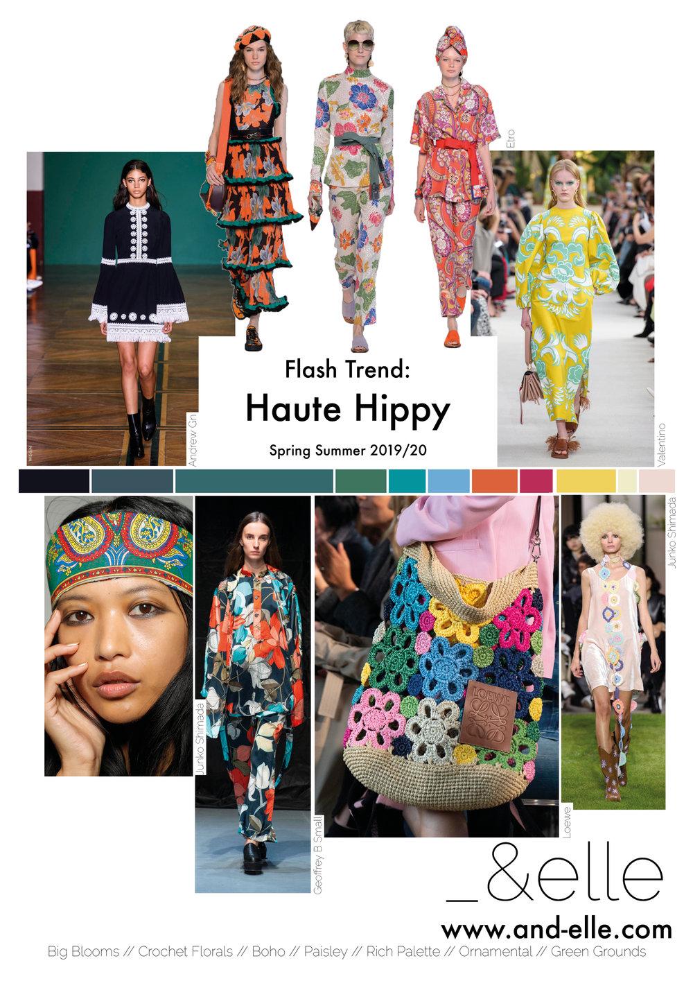 Trend Report SS19 Print Design Haute Hippy