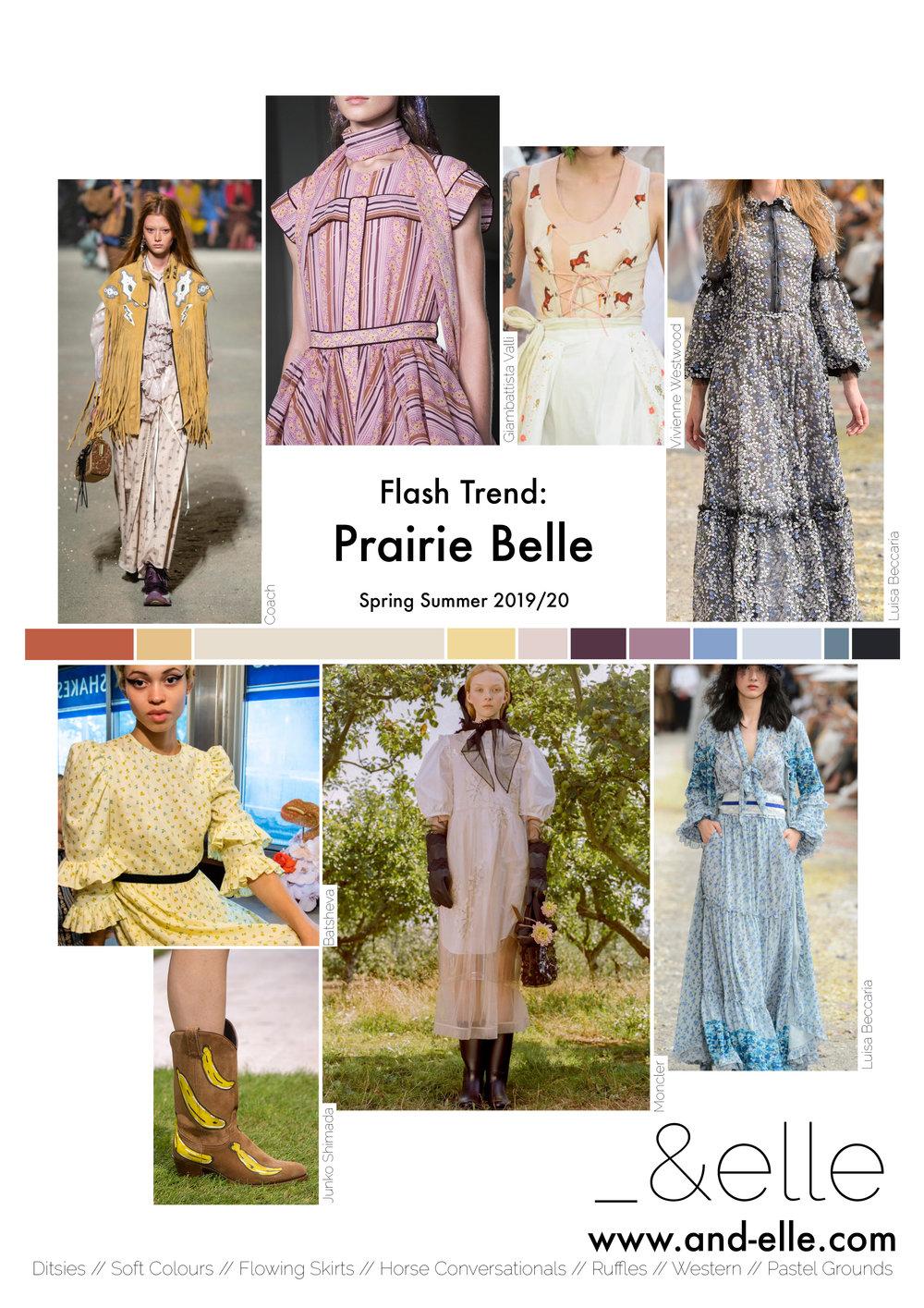 Trend Report SS19 Print Design Ditsies Western Prairie