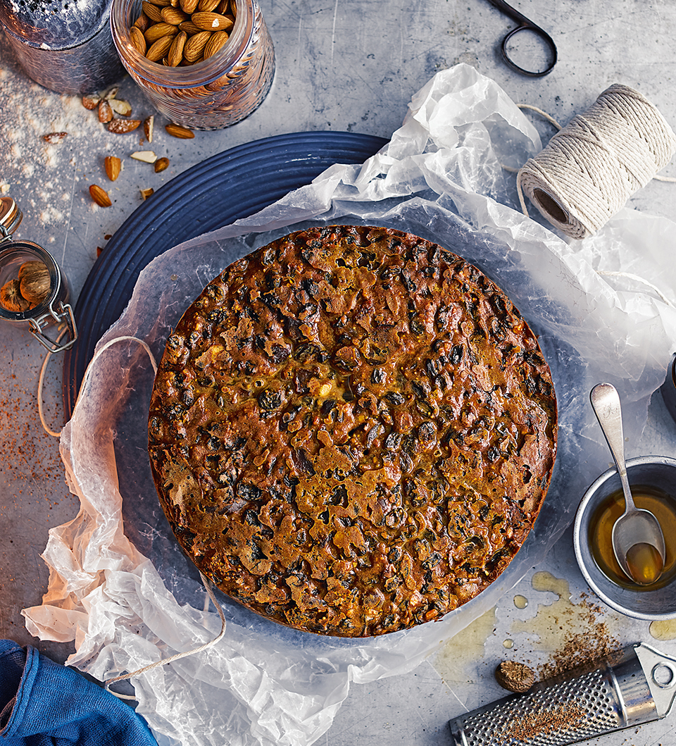 Marsala-soaked fruit cake