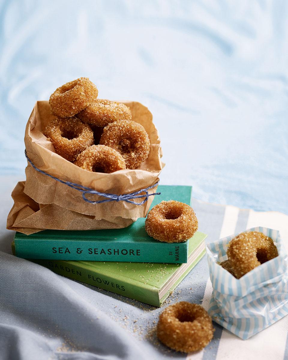 Ras el hanout sugared doughnuts