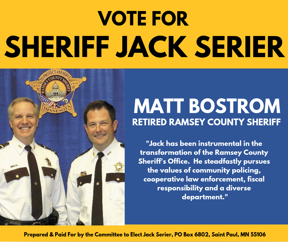 Matt Bostrom endorses Jack Serier for Sheriff.png