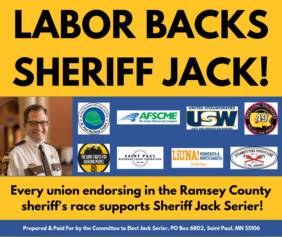 Labor Unions endorse Jack Serier.png