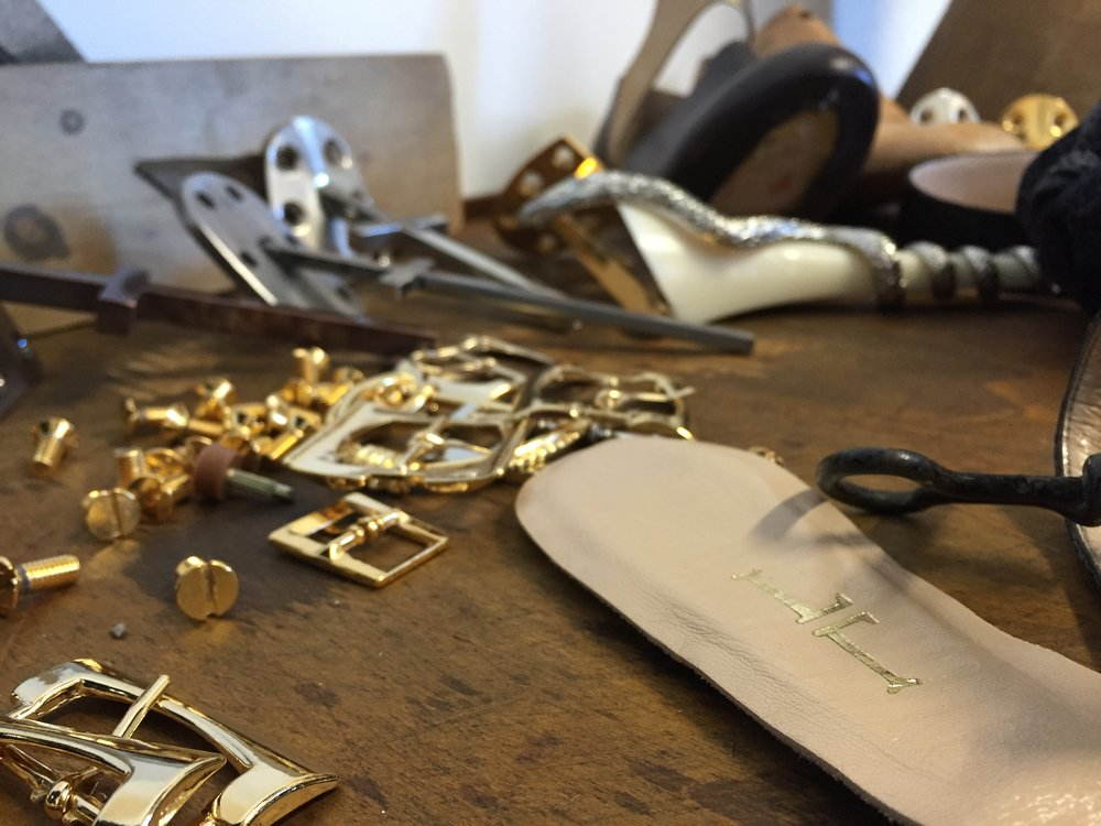 Craft - The tool of our imagination is the exclusiveItalian touch. All of our styles are 100% handcrafted in Italy.