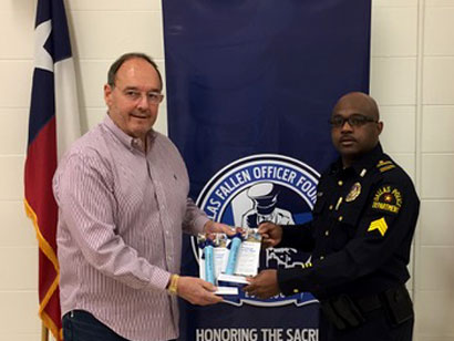 A Helping Hand - When Dallas and Fort Worth police officers supported Houston area law enforcement agencies in the in the aftermath of Hurricane Harvey, Jeff was concerned about the dirty water they'd be drinking. He solicited donations of water purification straws from REI, Cabelas, and Walmart, and delivered them to the Dallas Fallen Officers Foundation and the Fort Worth Police Department. Jeff values the opportunity to help his brothers and sisters in law enforcement whenever he can, whatever the need is. When elected, he will continue to support them.
