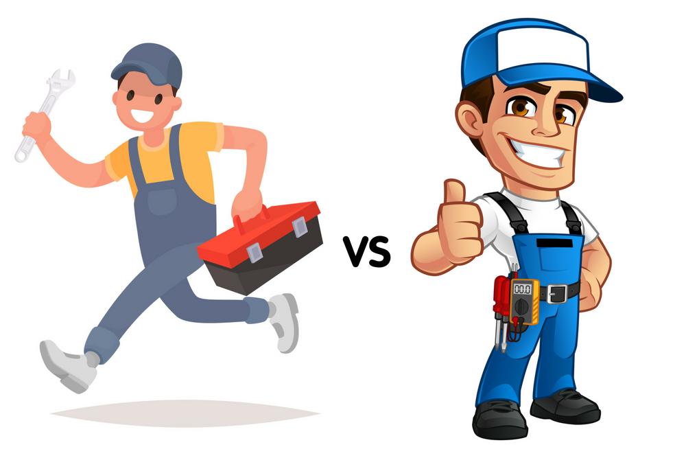 Handyman or Electrician