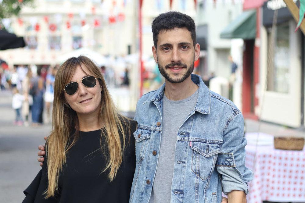 Geraldine Lewy y Joaquín Pastorino. Foto: Mauricio Pizard.