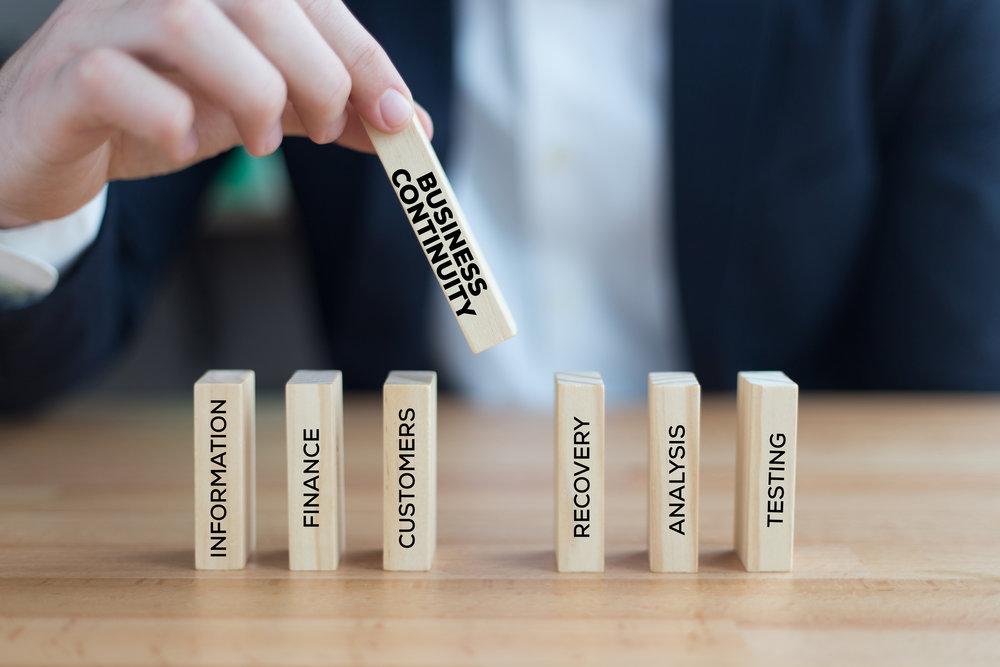 """""""Organiseer en test voordat de crisis begint"""" -"""