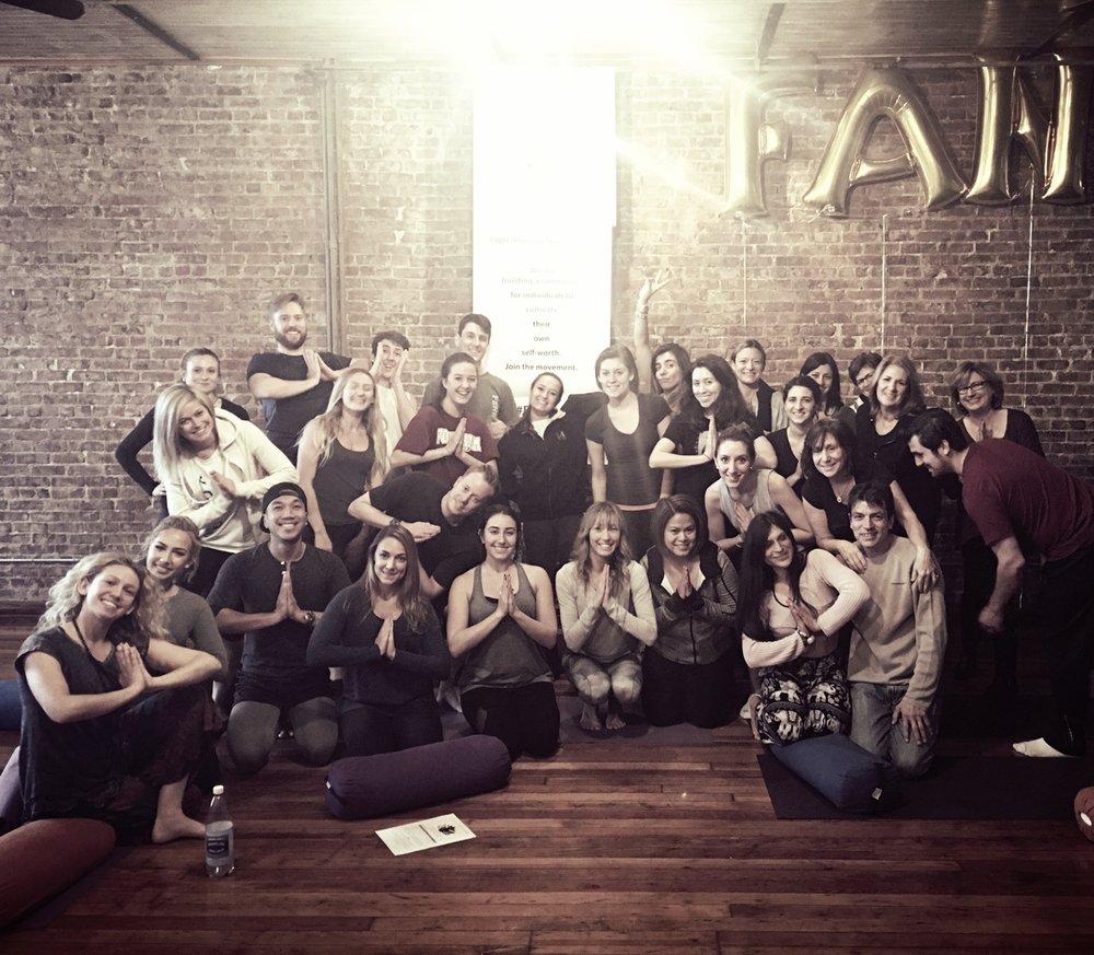 Yoga & Meditation Event @ KULA Yoga Project in NYC