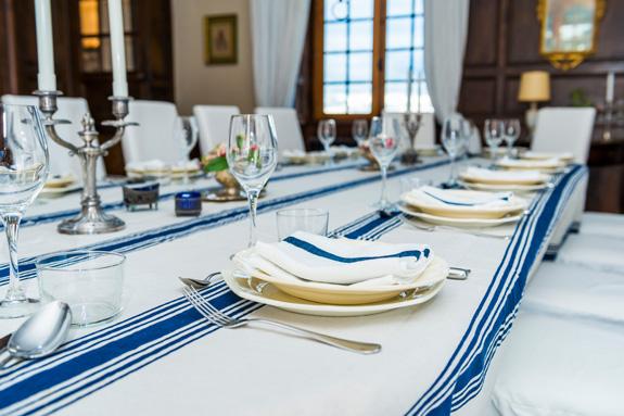 Diner im Salle à manger_Foto Daniel Berkmann