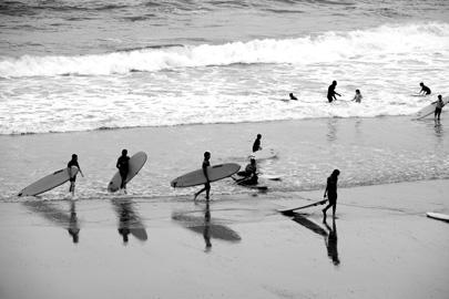 Surfer in Biarritz_Foto Sebastian Hartz