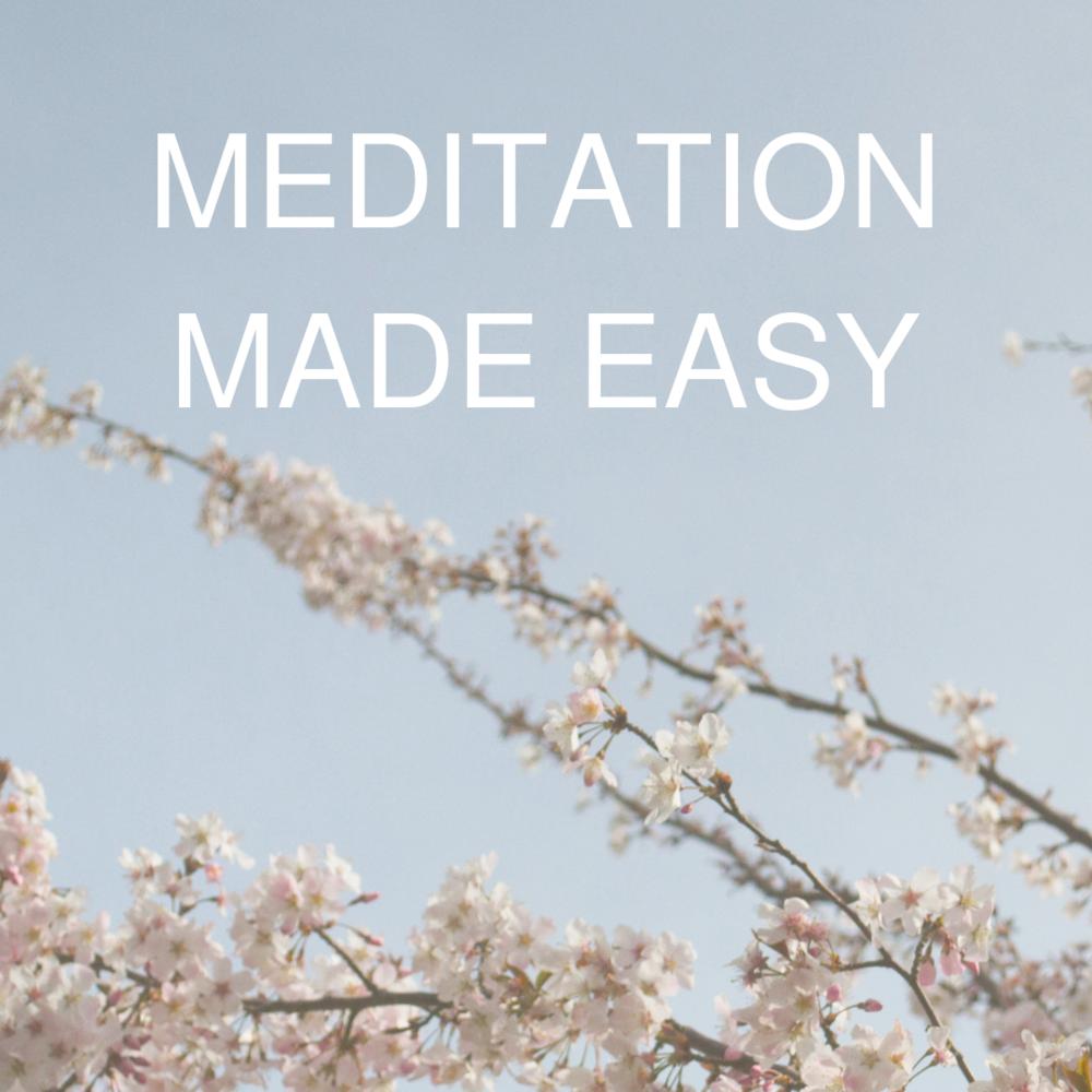 Meditation Made Easy Event Logo