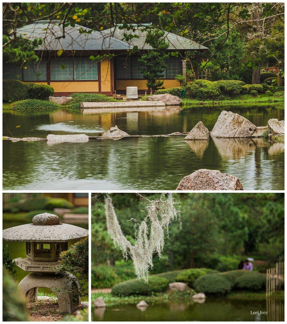 House at Japanese Gardens, Hermann Park