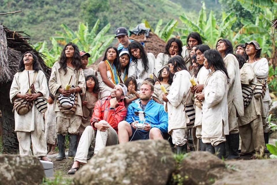 WhereNext producing for Columbia Sportswear with the Kogi Indians in the remote Santa Marta Massif. Our multi-lingual team was a key ingredient to the production's success.