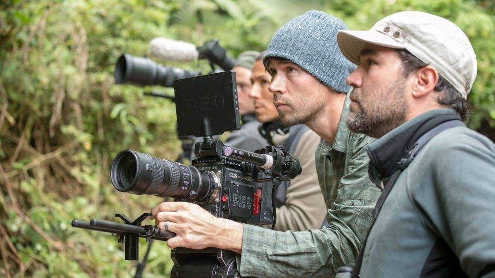 National Geographic photographer and storyteller,  Keith Ladzinski , on location with local guides and assistants in Northern Andes of Colombia.