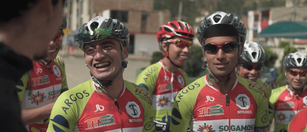 colombian cycling team filming in colombia therabouts 3