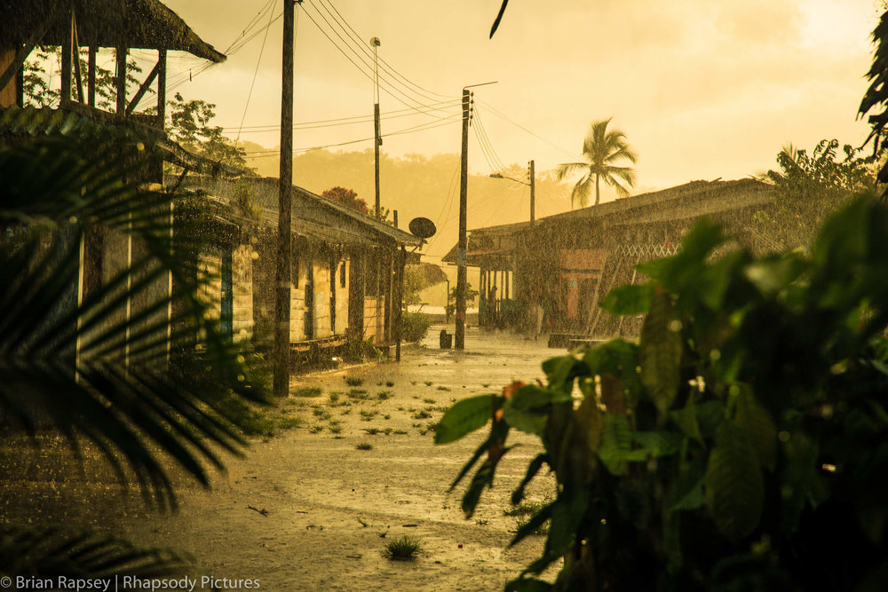 A late afternoon rainstorm in Coqui, Colombia - Photo Credit:  Brian Rapsey  /  World Nomads
