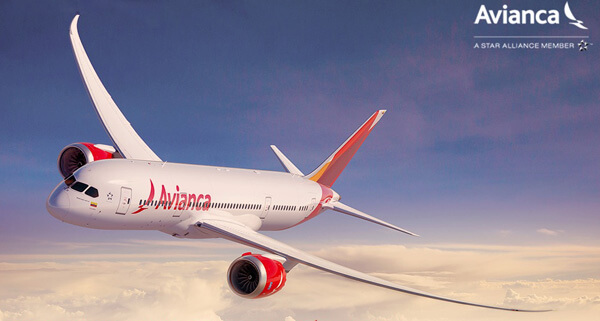 Avianca's new Boeing 787