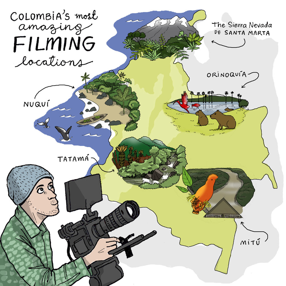filming locations in colombia 2019 s most amazing natural history