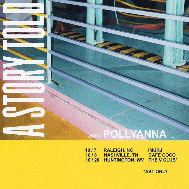 Gonna play some shows this fall.  Here's a few of them with @thisispollyanna  More dates coming soon.