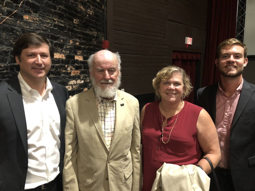 Premium President Ben Montgomery, Donald Shoup, Business Development Manager Kirstin Erwin and Market President, Gulf Coast Philip Olivier.