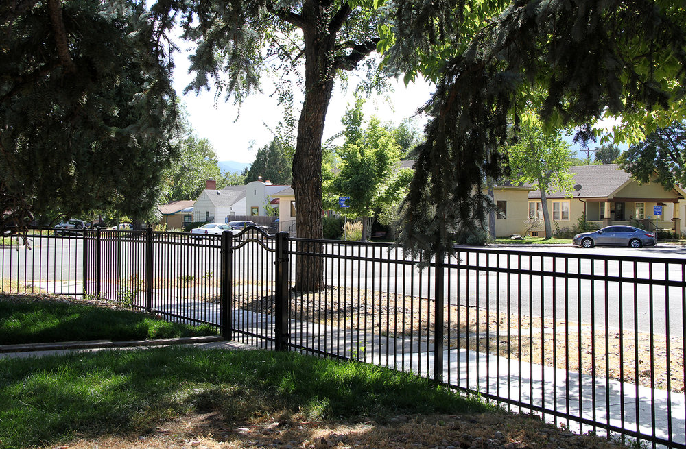 Custom Ornamental Iron Fence in Colorado Springs