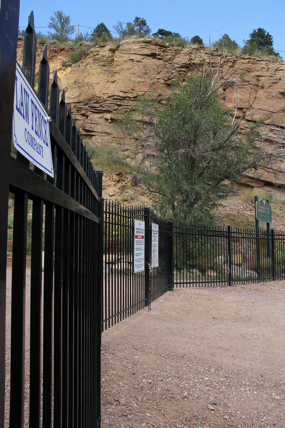 Custom Law Fence Iron Gate and Fence in Colorado Springs