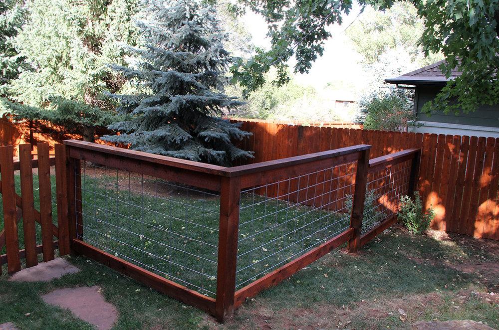 Custom Post Rail Fencing in Colorado Springs