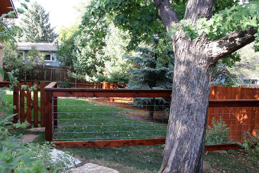 Customized Post Rail Fence Colorado Springs