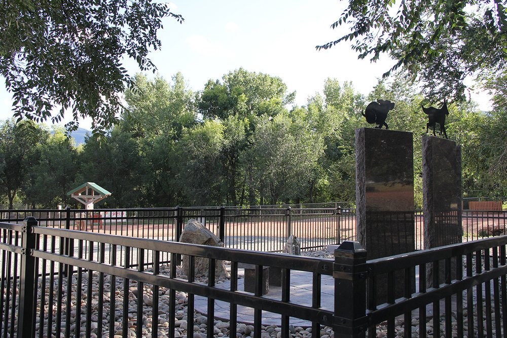 Custom Fence and Gate Donated to Colorado Springs Community