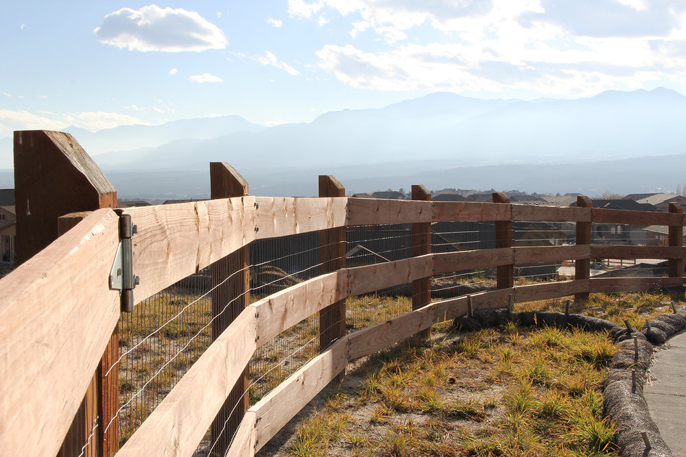 Custom Fence in Colorado Springs