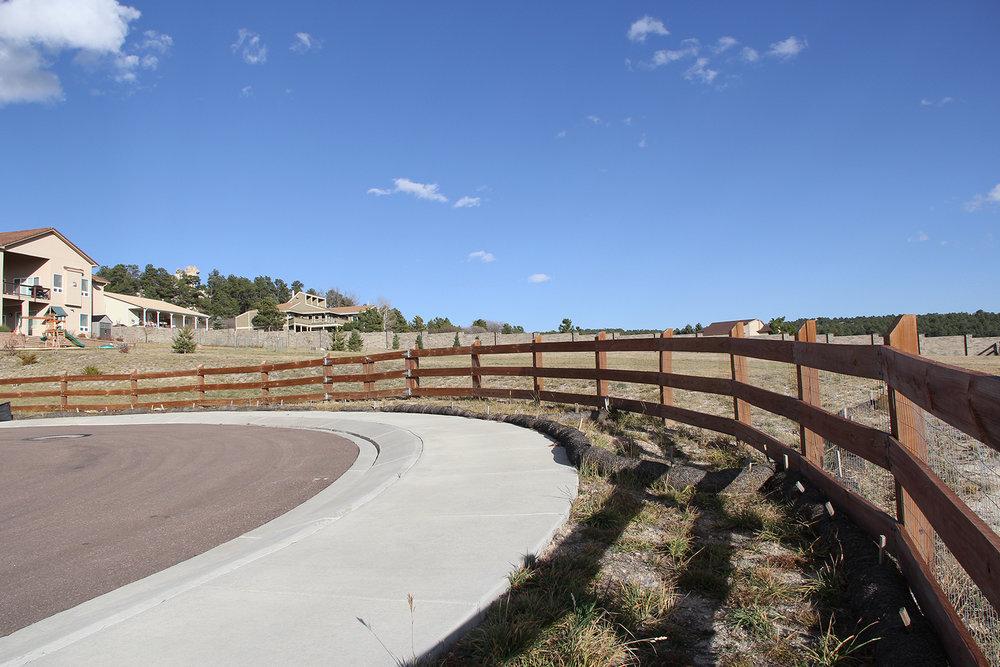 Customized Split Rail Fencing in Colorado Springs
