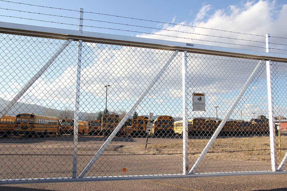 Automatic Gate and Barbed Wire
