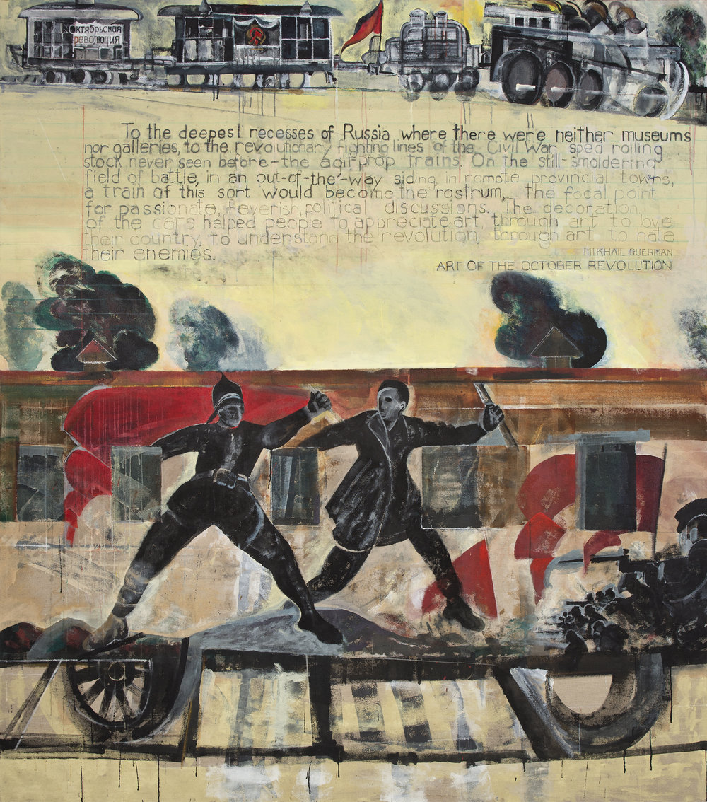 Agit-Prop Train Red Cossack, 2013