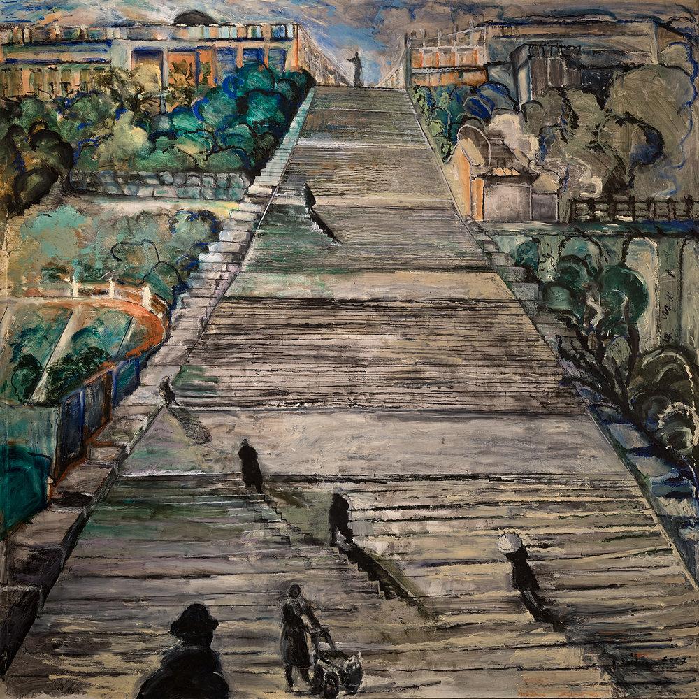 Sergei M. Eisenstein Contemplates his Masterpiece, 2017