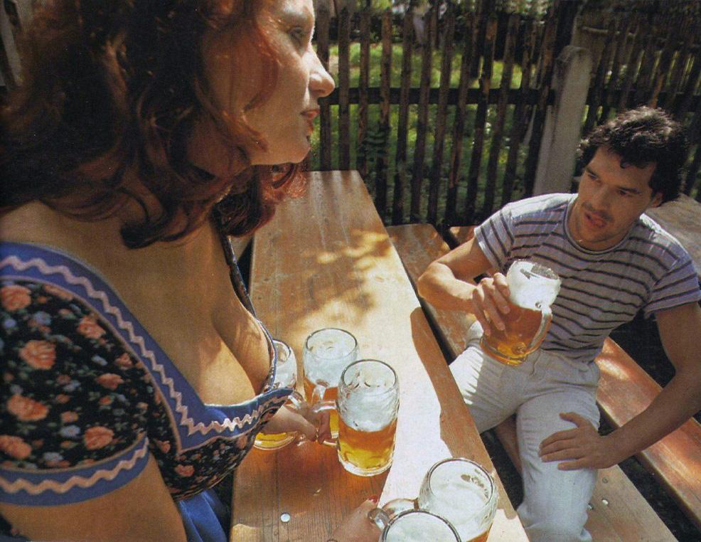 Barmaid in Dirndl Dress at Oktoberfest Pleasure Magazine No. 42 0005b.jpg