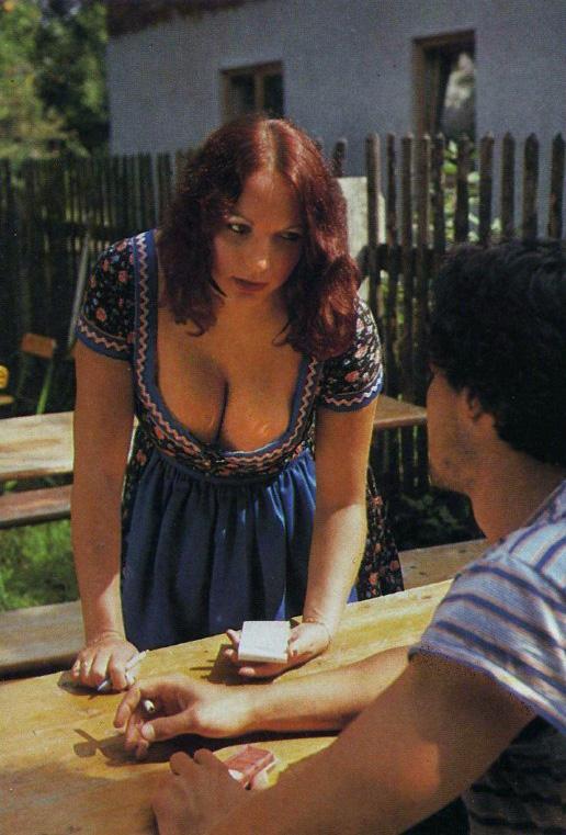 Barmaid in Dirndl Dress at Oktoberfest Pleasure Magazine No. 42 0006b.jpg