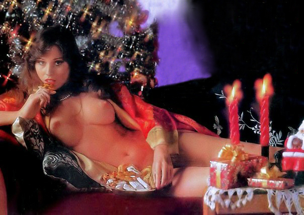 03 Christmas Porn with Playmate Patti McGuire Playboy Magazine 1976.jpg
